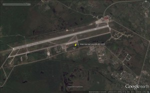 Overview of the AFB as of the 21.09.2014 - Photo: GoogleEarth.