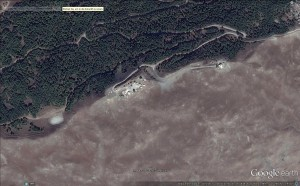 Missile Early Warning Site on the island Kos as of the 09.10.2013. Image: GoogleEarth