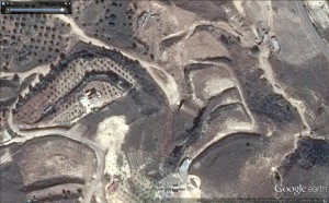 Underground facility. GoogleEarth.